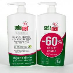 SEBAMED DUPLO 60% EMULSION ACEITE OLIVA 750 ML