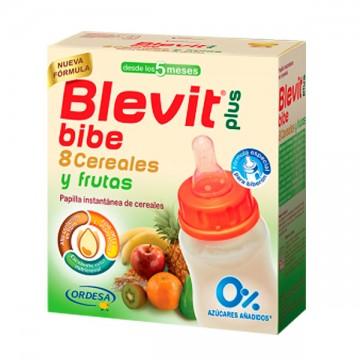 BLEVIT PLUS BIBE 8 CEREALES Y FRUTAS 600 GR